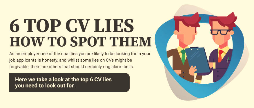 Finding great employees – checking the CV