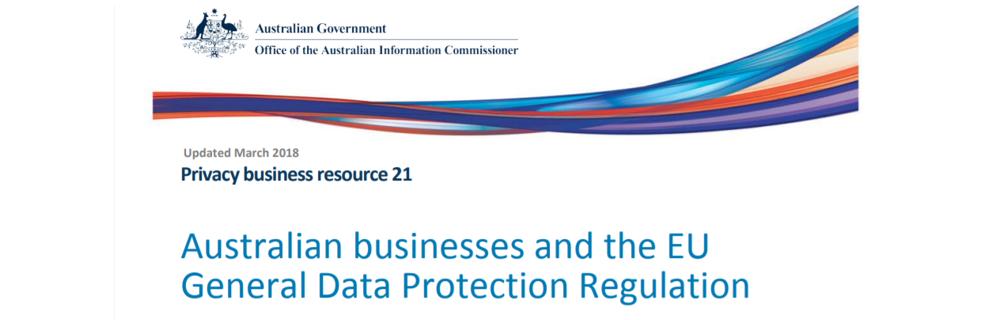 GDPR (the EU General Data Protection Regulation)