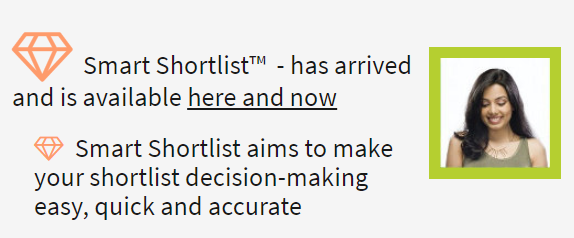 Have you tried Smart Shortlist yet?